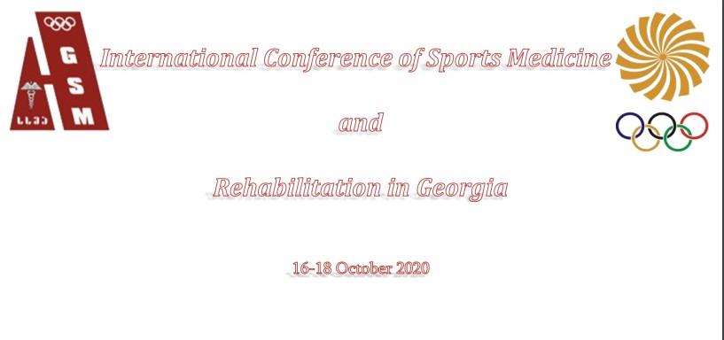 Conferență internațională de medicină sportivă și reabilitare în Georgia